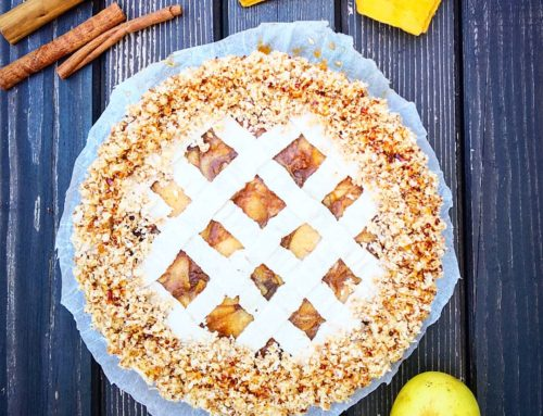 Apple Crumble Tart